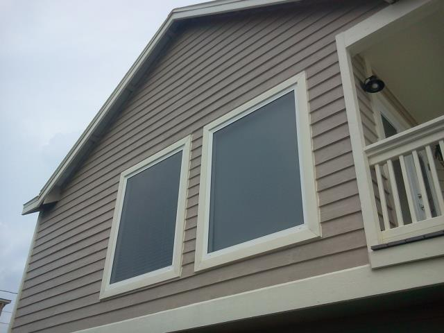 Installed eight new Viwinco impact rated windows