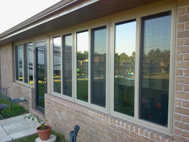Installed Viwinco windows and out swing patio door all impact