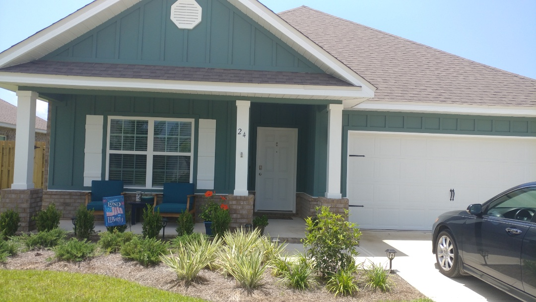 Freeport, FL - We are talking about hurricane shutters for our new house