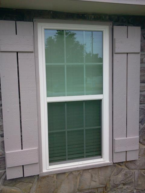 Milton, FL - Installed ten impact CWS windows with grids