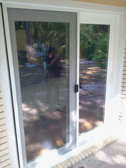 Gulf Shores, AL - Installed a Shwinco sliding glass door