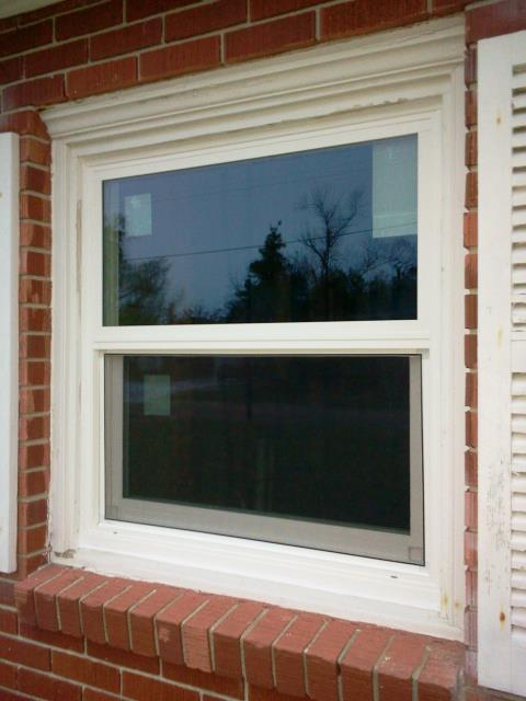 Destin, FL - Impact rated white vinyl low-e argon and no grid windows for this customer