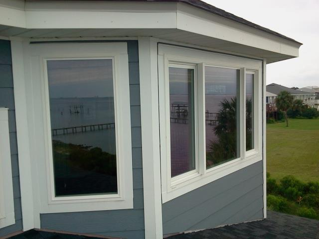 Shalimar, FL - Installed impact windows that exceeds all hurricane and energy code requirements.