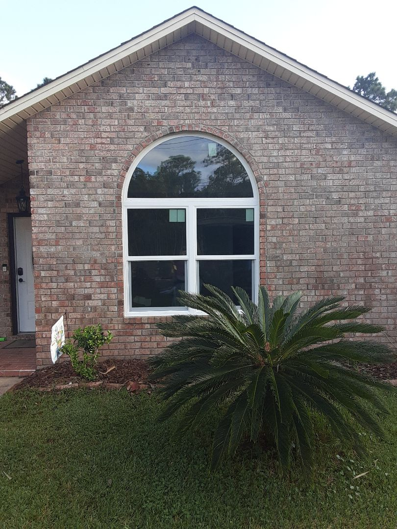 Shwinco impact window installation with arch