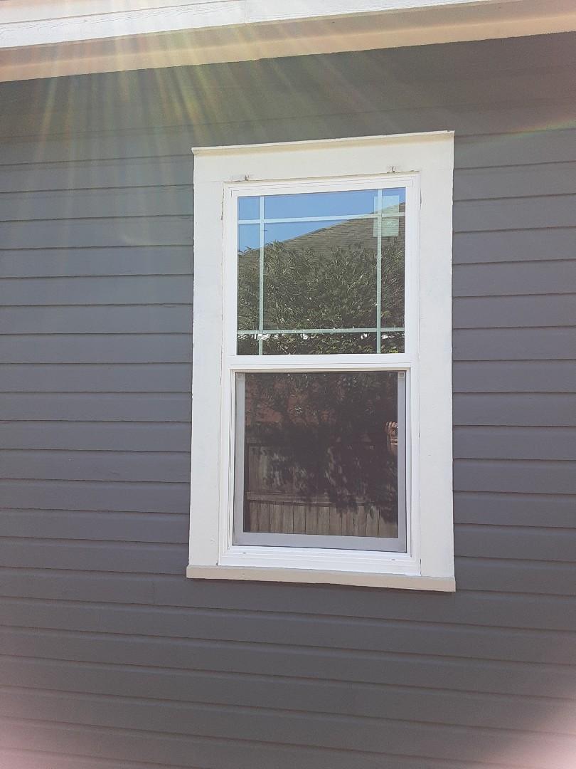 Shwinco window installation by Follers Window Company.