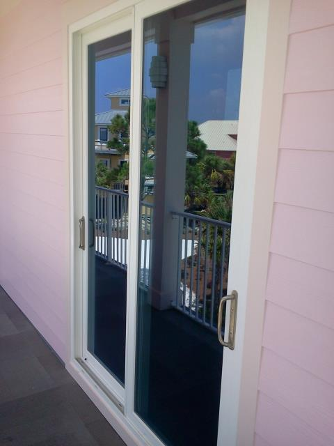 Silverhill, AL - Folkers installed eight replacement windows and one Sliding Glass Door All Viwinco Ocean View impact