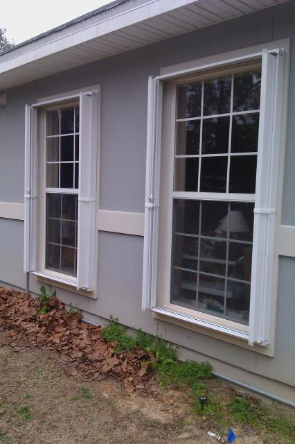 Foley, AL - Replacement windows and hurricane protection