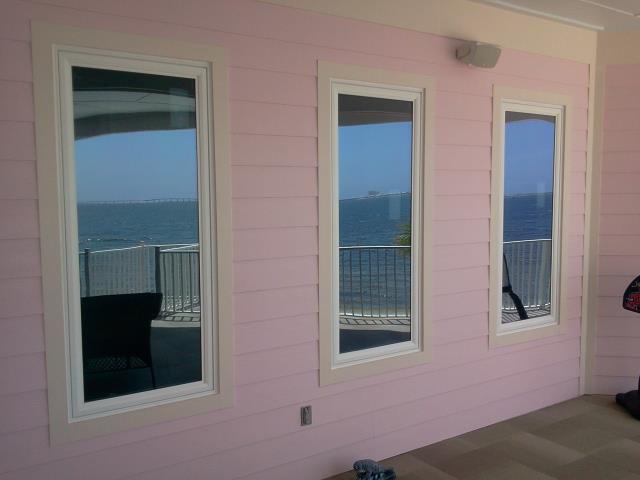 Niceville, FL - Folkers installed three non-impact Viwinco windows
