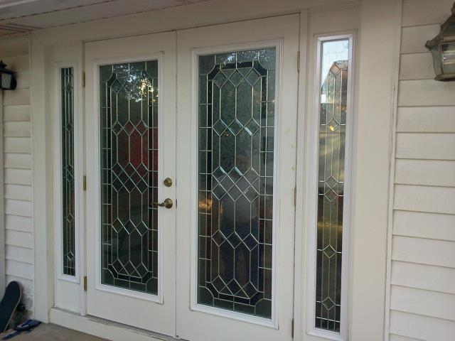 Dauphin Island, AL - Installed new front door with two sidelights