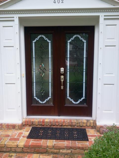 Crestview, FL - Installing new front door
