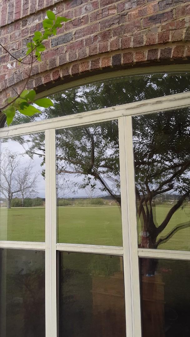 Elberta, AL - New Sandstone vinyl windows for this customer