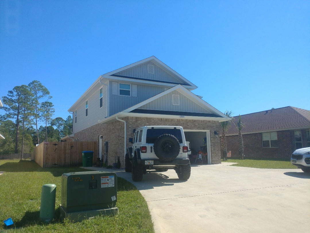 Gulf Breeze, FL - Working on hurricane protection for a new house