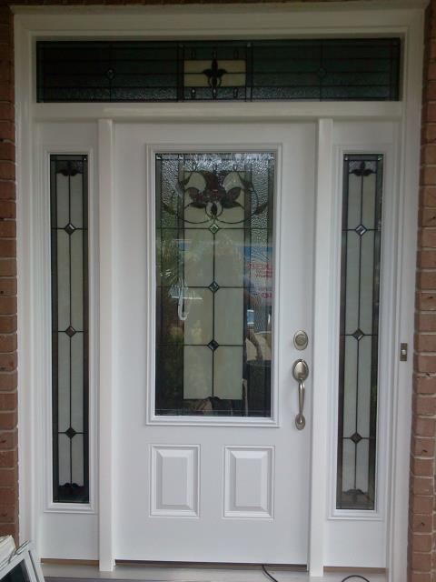 Fort Walton Beach, FL - Installed Shwinco front door and two side lights with a header