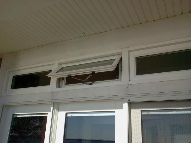 Gulf Breeze, FL - Servicing a Shwinco impact rated window