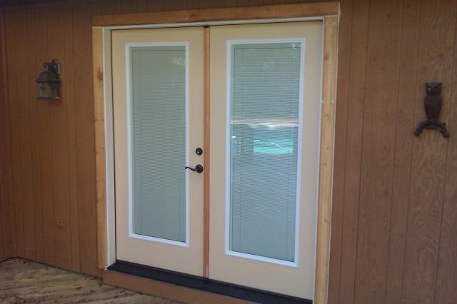 Elberta, AL - Installed five Thermal Tru French doors