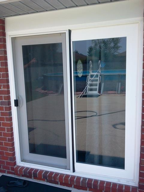 Daphne, AL - Installed impact sliding glass door