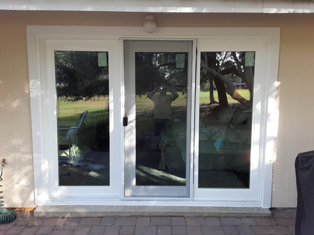 Destin, FL - Shwinco Triple Sliding Glass Door