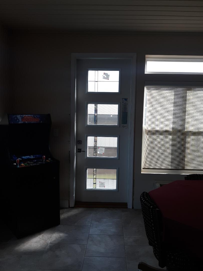 Gulf Shores, AL - Thermitru door install