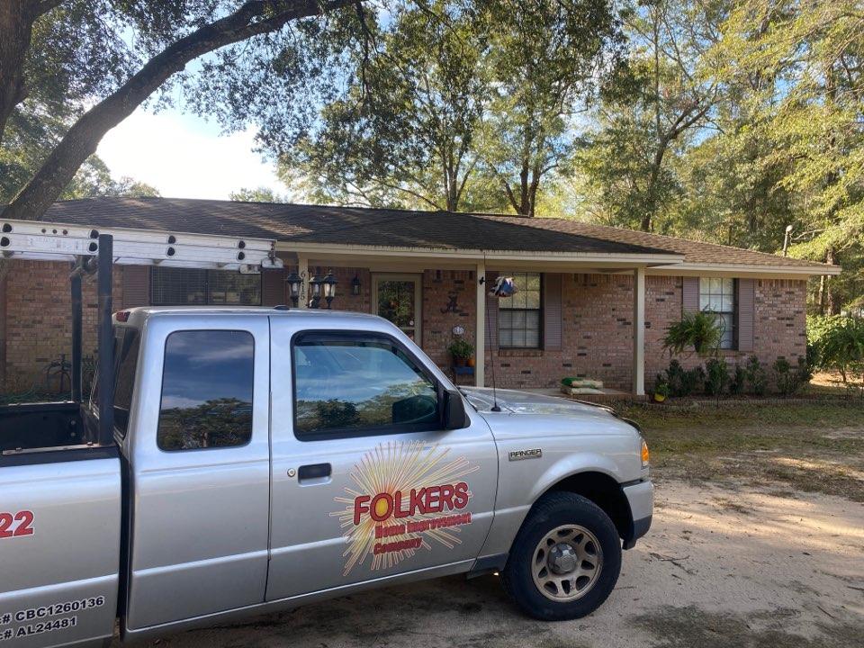 Milton, FL - Measuring for impact replacement Shwinco single hung windows