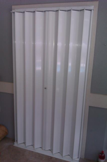 Santa Rosa Beach, FL - Installed fifteen new hurricane Accordion Shutters for protection