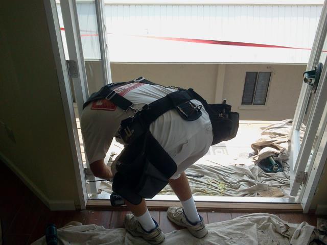 Gulf Shores, AL - Installed a French door in place of the sliding glass door that was there