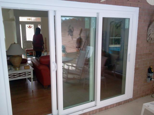 Mobile, AL - Folkers installed of whole home with twelve Shwinco impact windows and sliding glass doors