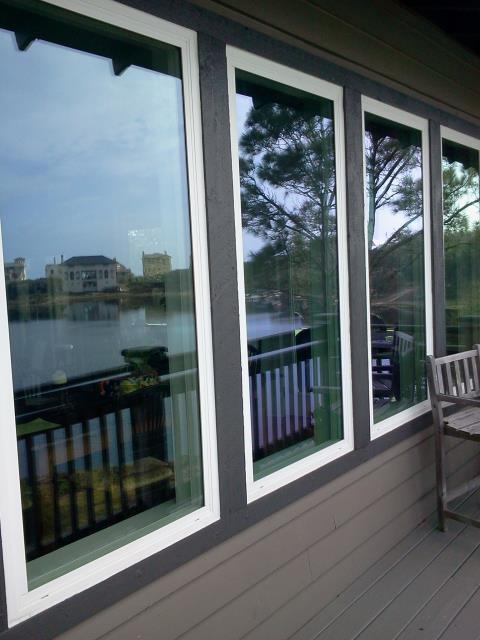 Gulf Breeze, FL - Installed four Shwinco impact widows