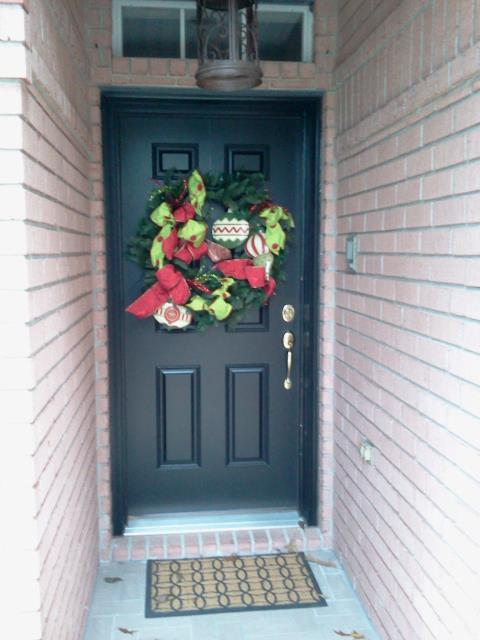 Santa Rosa Beach, FL - Installed an entry door impact fiberglass