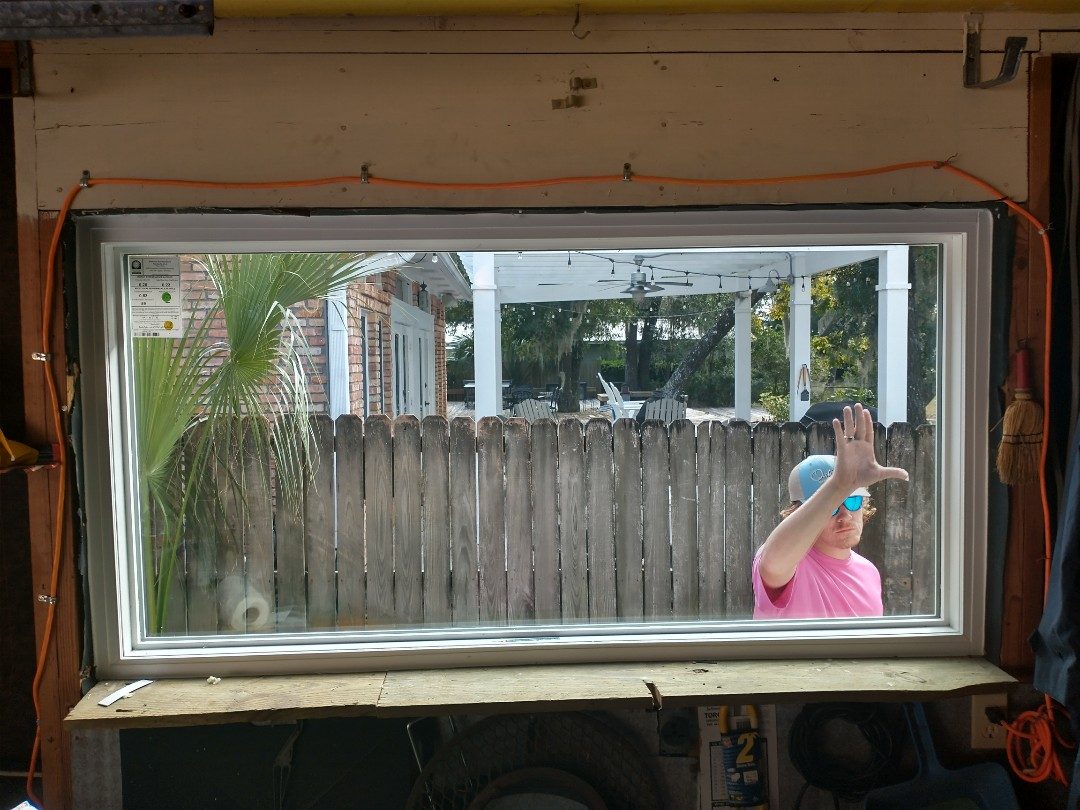 Shalimar, FL - Shwinco picture window install