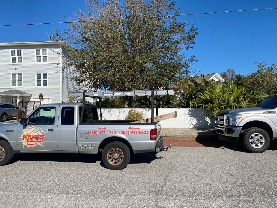 Okaloosa Island, FL - Measuring for impact replacement thermatru entry doors and shwinco sliding glass doors on okaloosa island fort Walton beach Florida