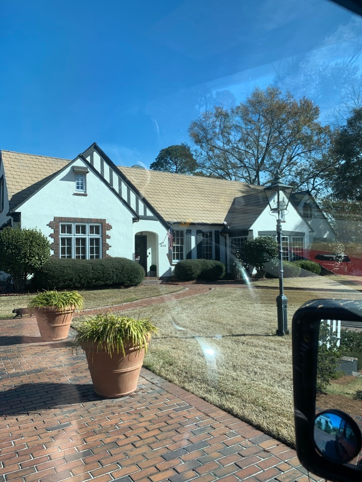 Brewton, AL - Met with customer measured windows wrote and signed contract