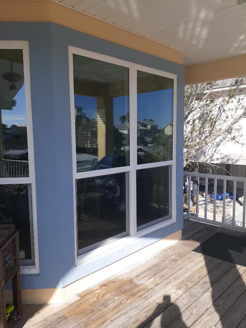 11 windows in orange beach Shwinco, Impact