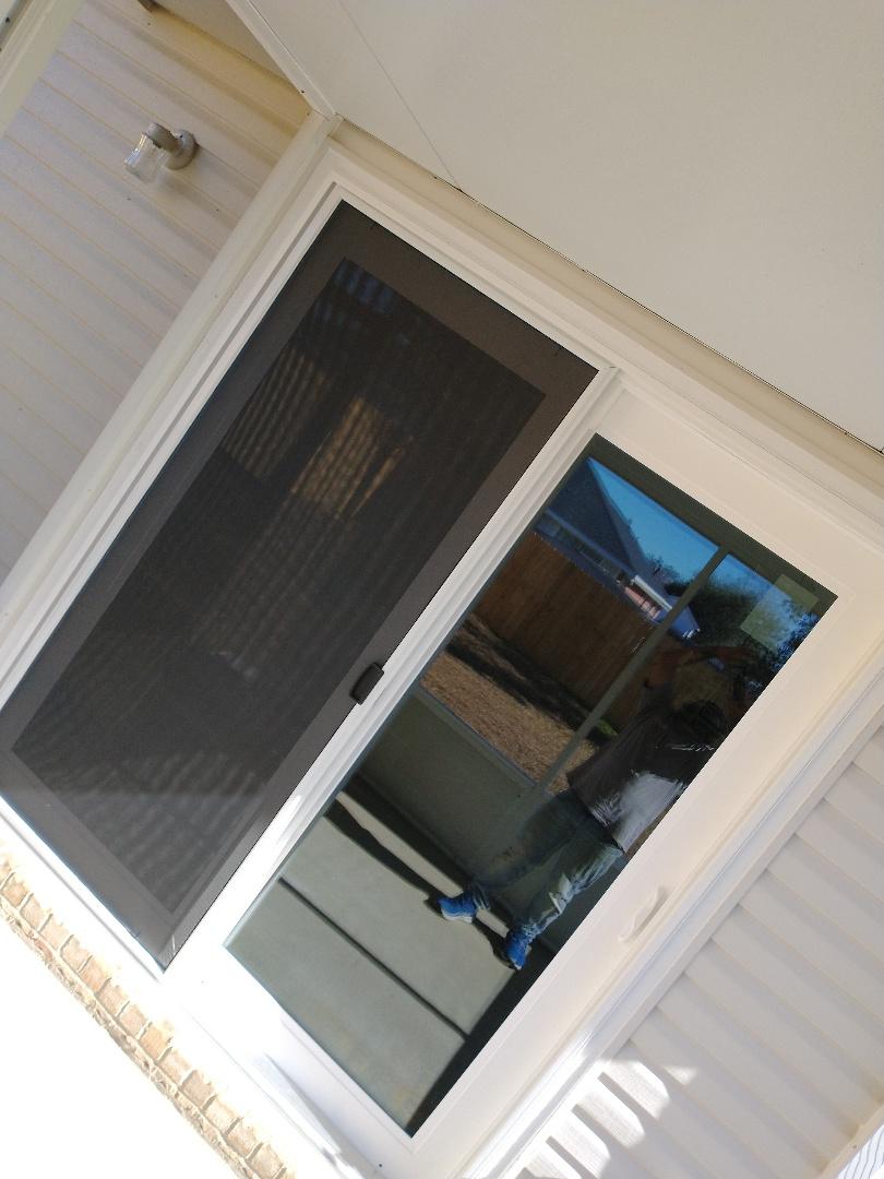 Swinco sliding glass door install