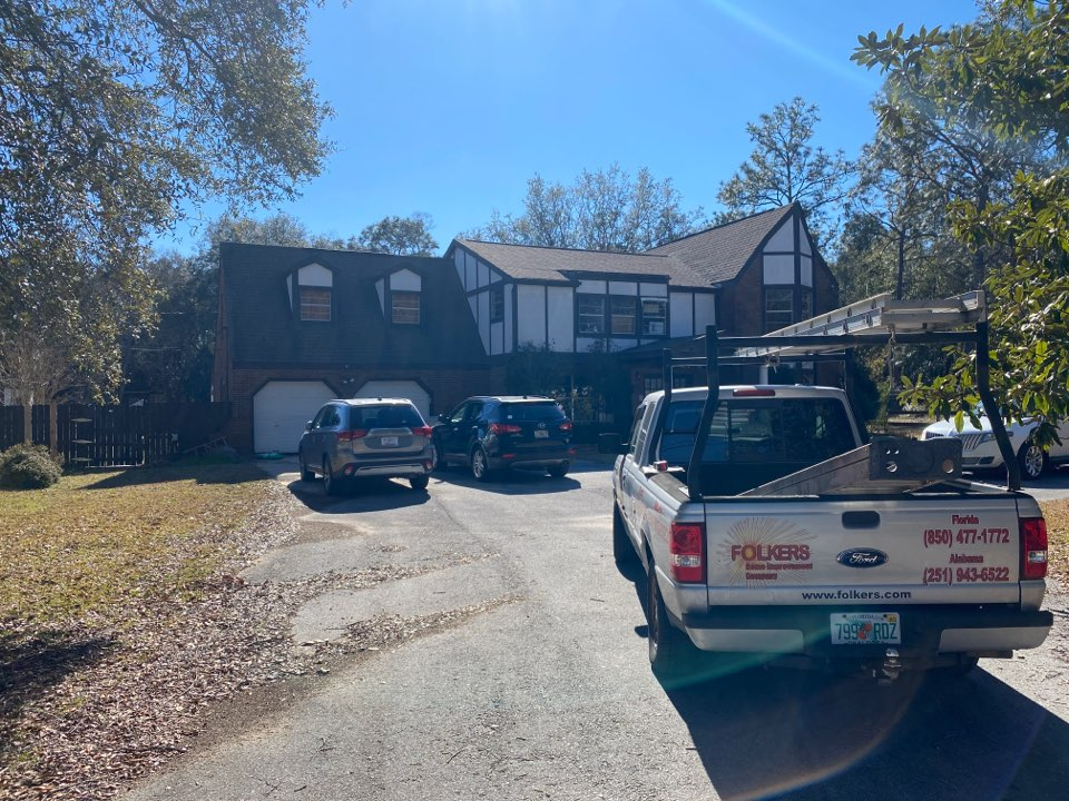 Measuring for impact replacement shwinco single hung windows in Milton Florida
