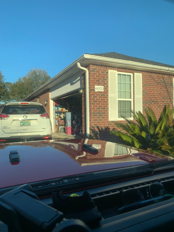 Crestview, FL - Met with client discussed door replacement options