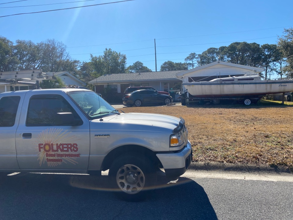 Fort Walton Beach, FL - Measuring for impact replacement shwinco single hung windows and sliding windows