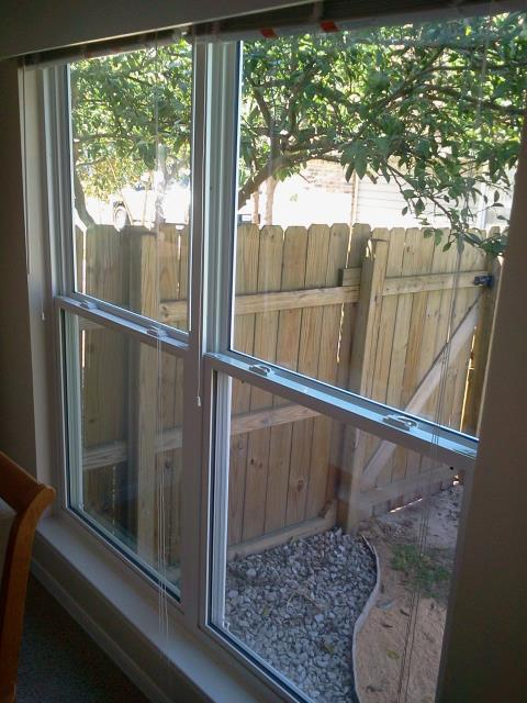 Gulf Breeze, FL - White vinyl low impact rated windows with turtle glass for this customer