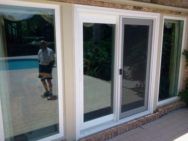 Milton, FL - Folkers installed eight replacement windows and one Sliding Glass Door All Viwinco Ocean View impact