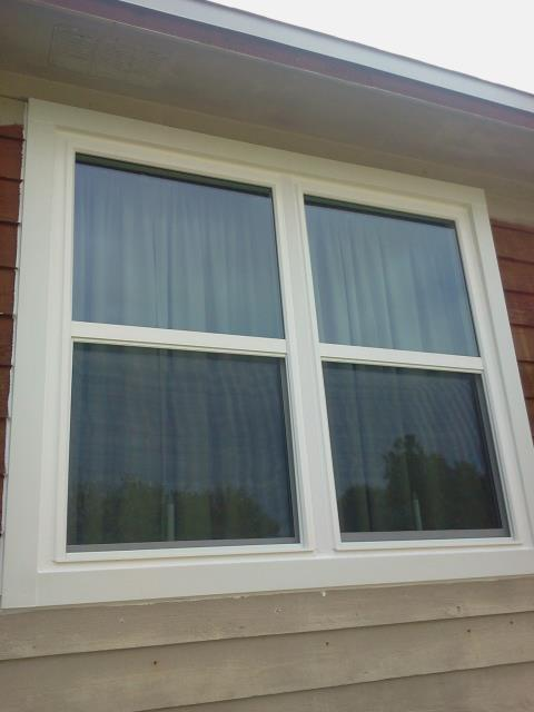Prichard, AL - Nine windows Viwinco, installed cleaned and caulked by Folkers