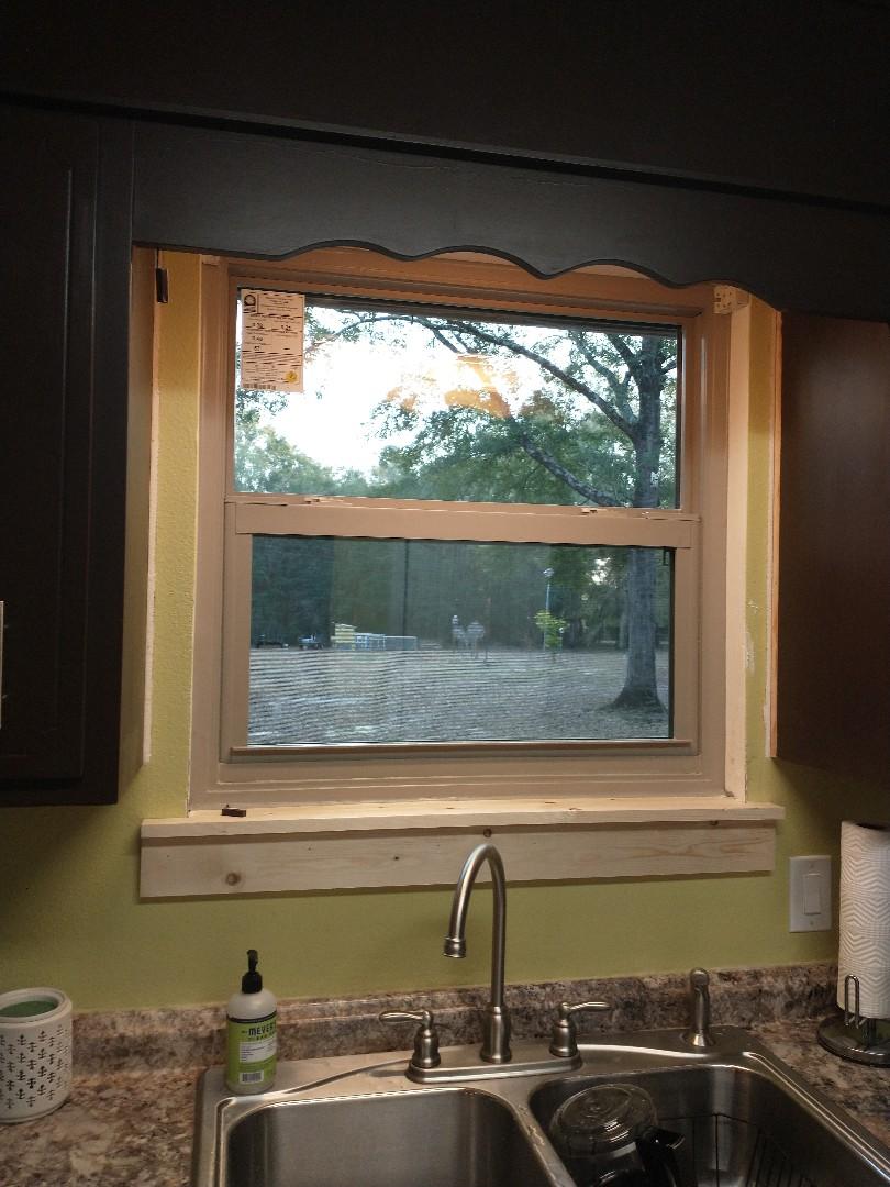 Swinco single hung window install