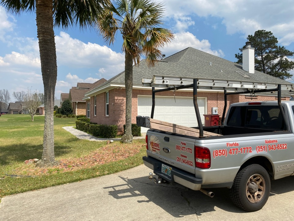 Pace, FL - Measuring for impact folkers rolling shutters in pace Florida