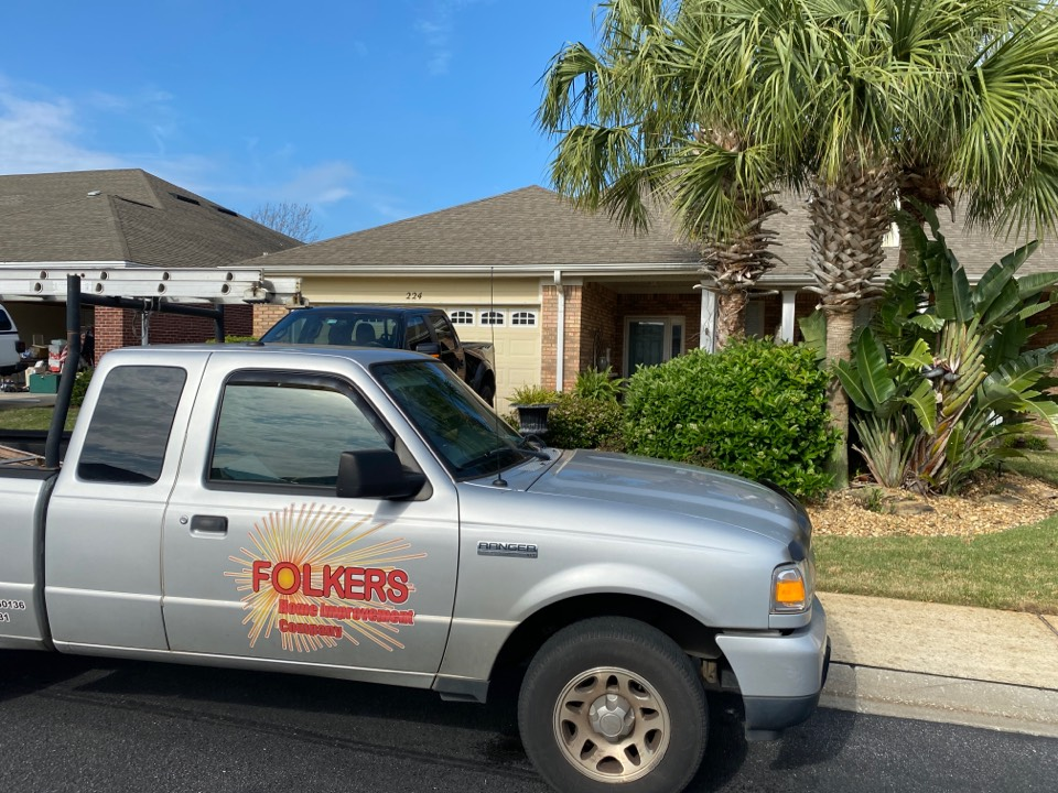 Destin, FL - Measuring for impact replacement shwinco sliding windows, sliding glass doors, fixed picture windows and thermatru replacement entry doors in Destin Florida