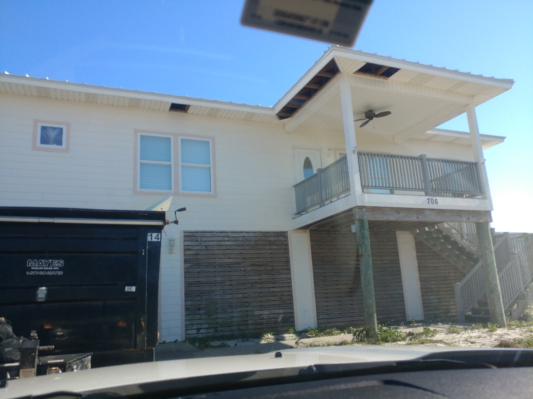 Pensacola Beach, FL - Starting our new windows and doors