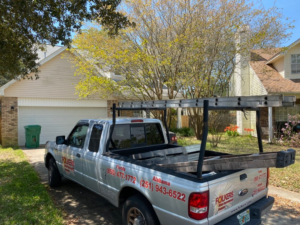 Mary Esther, FL - Measuring for impact replacement shwinco sliding glass doors in Mary Esther Florida