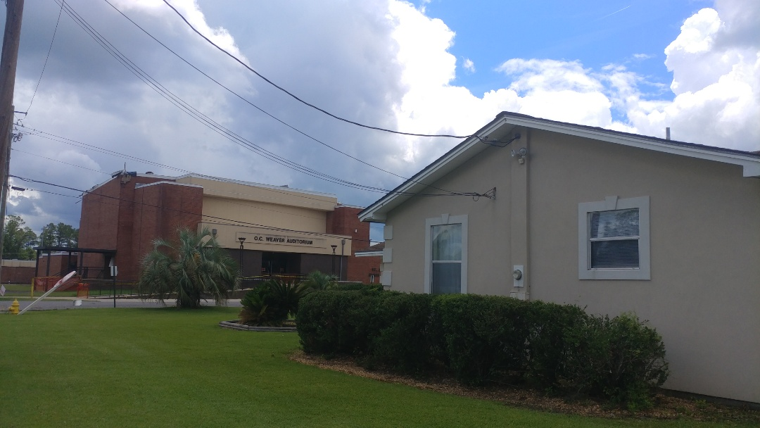 East Brewton, AL - Tornado damage from tropical storm Claudette, damaged the roof, and several windows