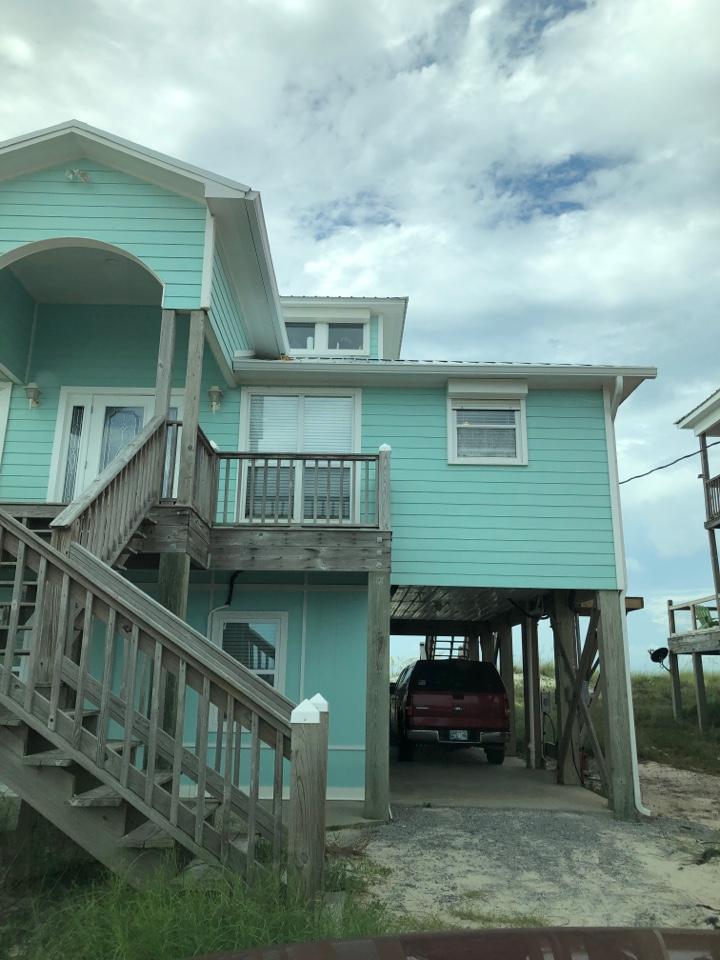 Gulf Shores, AL - Measuring for impact windows