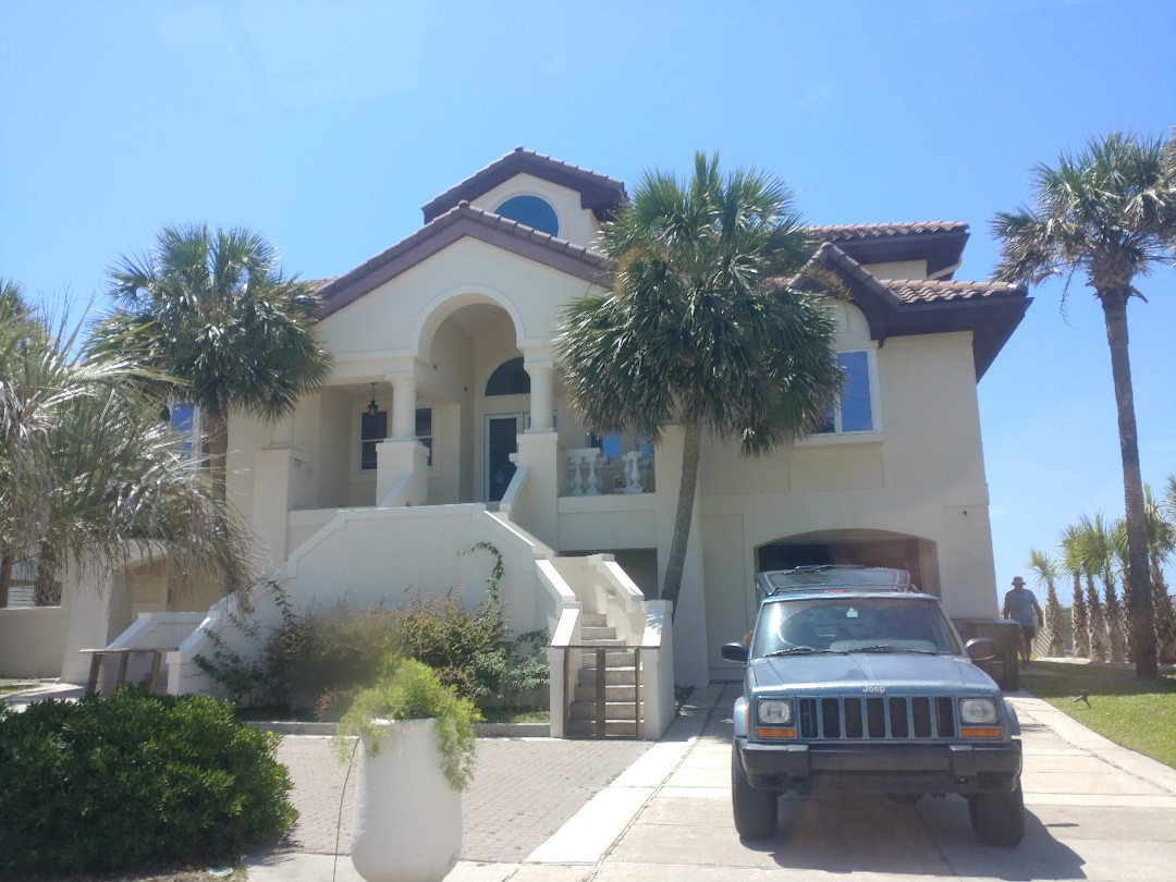 Gulf Breeze, FL - Relacing doors on the gulf side
