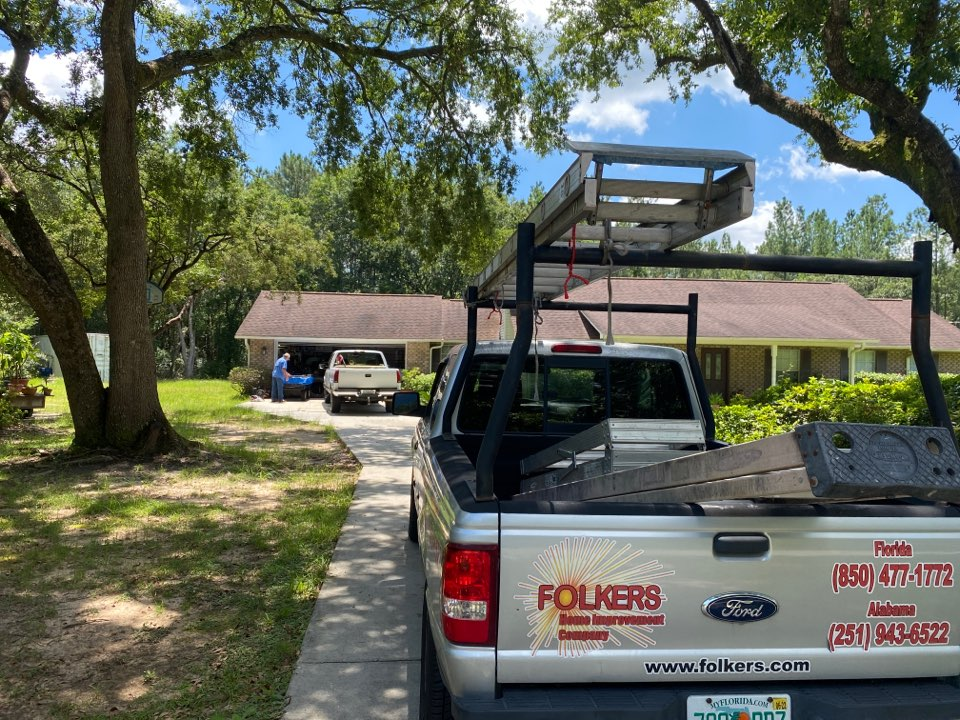 Milton, FL - Measuring four impact replacement shwinco single hung windows and fixed picture windows