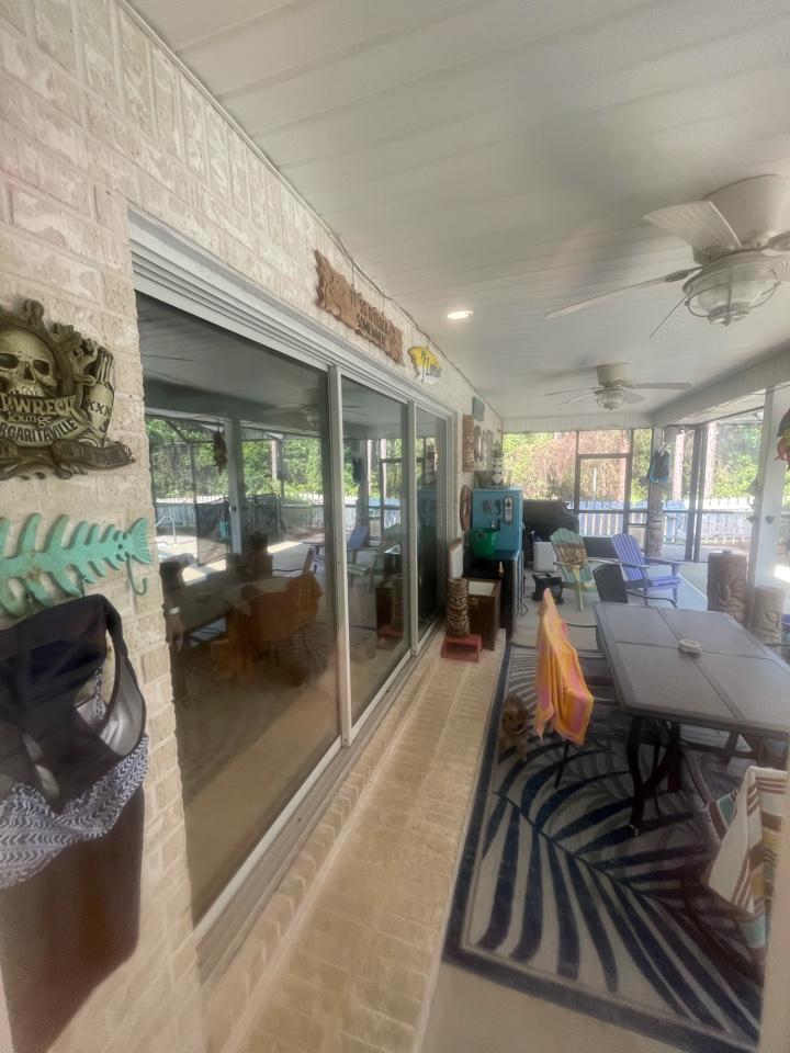 Customer orders new windows and doors