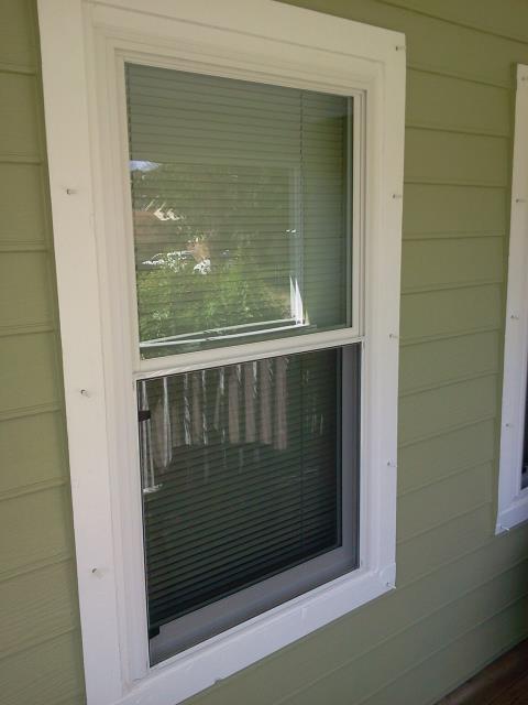 Orange Beach, AL - New white vinyl low-e argon windows